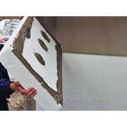 Шумо- и теплоизоляция стен пеноплексом фото
