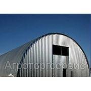 Бескаркасные арочные здания-склады,зернохранилища и т.д. фото