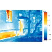 Тепловизионное обследование фасадов, домов, кровля. фото