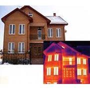 Тепловизионное обследование зданий, сооружений, жилых домов. фото