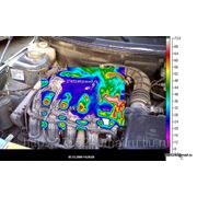 Тепловизионная съемка узлов автомобилей фото