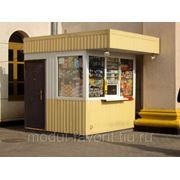 Ларьки, киоски, торговые павильоны. фото