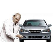 Получение диагностической карты при прохождении осмотра автомобиля. фото
