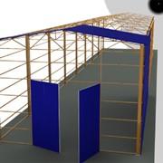 Строительство складов и ангаров фото
