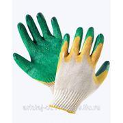 Нанесение латекса на рабочие перчатки фото