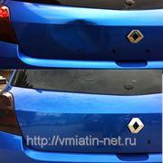 Удаление вмятины на багажнике RENAULT CLIO SPORT фото