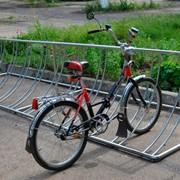 Переносная велопарковка фото