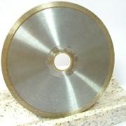 Отрезные диски со сплошной кромкой для обработки полудрагоценных камней. фото