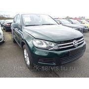 Volkswagen Touareg 7P авто комплект 2012г .пробег 14014км