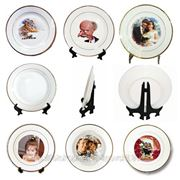 Печать на тарелках фото