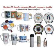 Нанесение фото на кружки, тарелки, сувениры фото