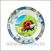 Фото на тарелках фото
