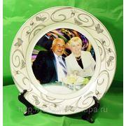 Фото на тарелке наклейка фото
