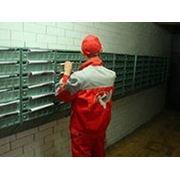 Распространение листовок или различных рекламных материалов по почтовым ящикам фото