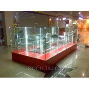 Торговое оборудование: островные отделы, магазины для реализации ювелирной, сувенирной продукции, порфюмерии фото
