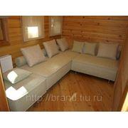 Мягкая мебель для бани фото