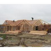 Cтроительство деревянных домов и бань из бревна и бруса фото