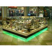 Производство торговой мебели для магазинов бижутерии, ювелирных отделов, сувенирной продукции фото