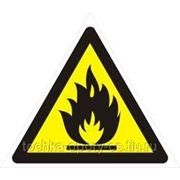Знаки безопасности металлические оцинковка 0,5мм (Световозвращающая пленка) фото
