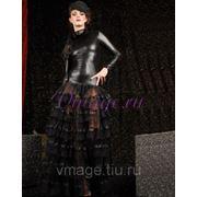 Карнавальный костюм — Хэллоуин, черного цвета фото