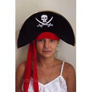 Шляпа пиратская, Джек Воробей, арт. 410 фото