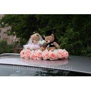 """Мишки на крышу """"Цветочная романтика"""" фото"""