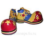 Прокат сценических ботинок клоуна. фото