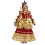 Прокат детского карнавального костюма « Королева золотая»
