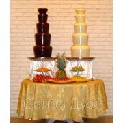Шоколадный фонтан - удивите гостей вкусным сюрпризом! фото