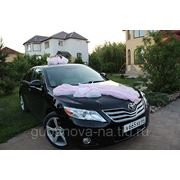 Аренда свадебных украшений для автомобиля фото