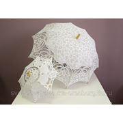 Свадебные зонты для невесты напрокат в Оренбурге - магазин свадебных аксессуаров Свадебная лавка фото