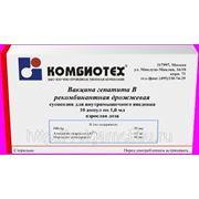 Вакцинация против гепатита В (Комбиотех-Россия) взрослая фото