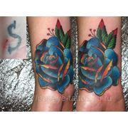Исправление татуировок фото