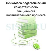 Психолого-педагогическая компетентность специалистов воспитательного процесса