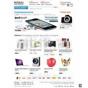 "Создание сайта для online-гипермаркета ""Ecna.ru"""