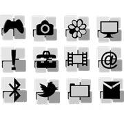 Иконки для тулбаров, web-сайтов и приложений