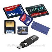 Восстановление данных фотографий с карт памяти CD DVD фото