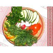 Асорті овочів — Ассорти овощное