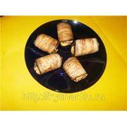 Салат«Ранчо»,Рулетики из бак.с сыром фото