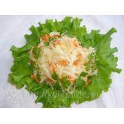 Салат из квашен.капусты фото