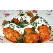 Голубцы овощные готовые фото