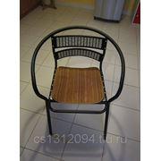 Кресло метал с подкладкой