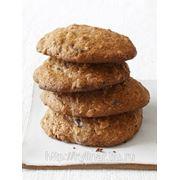 Печенье овсяное с изюмом и шоколадом фото