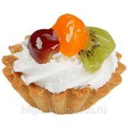 Пирожное «Корзиночка с фруктами»