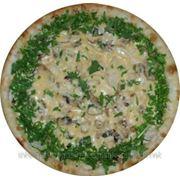 Пицца с курицей и шампиньонами 40 фото