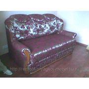 Обтяжка дивана (новой тканью) с сохранением дизайна