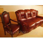 Реставрация кожаной мебели фото