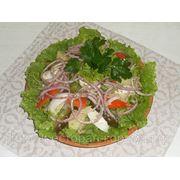 Салат з маринованоi оселедцем - Салат с маринованной селедкой фото