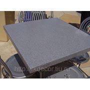 Столы для баров и кафе из искусственного камня, 600х600 фото