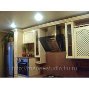 Кухня дуб беленый фото